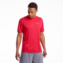 SAUCONY STOPWATCH TEE (SAM800212 RED)