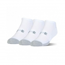 UNDER ARMOUR HEATGEAR NS SOCKS 3PP (1346755-100)