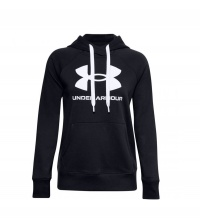 UNDER ARMOUR RIVAL FL LOGO HOODIE (1356318-001)