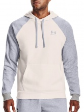 UNDER ARMOUR RIVAL FLC COLORBLOCK HOODIE (1366357-112)