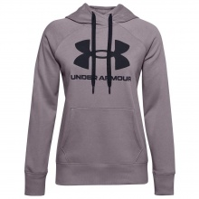 UNDER ARMOUR RIVAL FL LOGO HOODIE (1356318-585)
