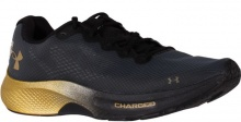 Under Armour CHARGED PULSE (3023020-001) Black-Met Gold Luster