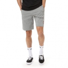 VANS OG CHECKER FLEECE SHORT BLACK HEATHER (VN0A49SK02F)