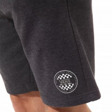 VANS OG CHECKER FLEECE SHORT BLACK HEATHER (VN0A49SKBHH)