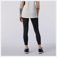 NEW BALANCE Relentless Printed High Rise 7/8 Tight (WP11178BKW)