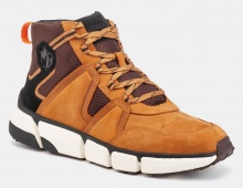 LUMBERJACK HIKING SNEAKER NUBUCK YELLOW/DK BROWN (SM58701-001X18M0001)