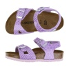 BIRKENSTOCK RIO MAGIC SNAKE (1012726 LILAC)